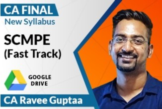 SCMPE Fast Track Lectures For Nov. 2020 By CA Ravee Gupta