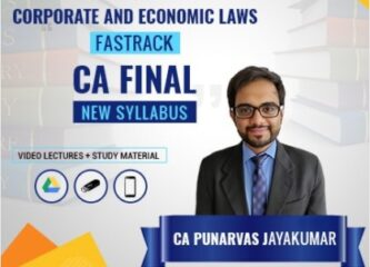 CA Punarvas Jayakumar CA Final Corporate & Economic Laws Fast Track Lectures Advait | CA Final Law Fast Track Lectures in English