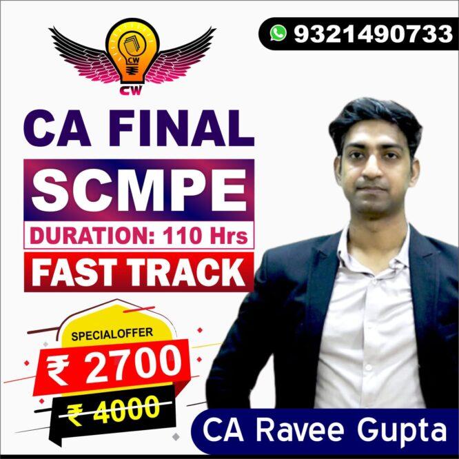 scmpe fast track by ca ravee gupta