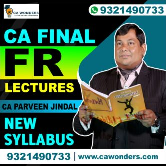 CA Parveen Jindal FR Lectures | Full Course