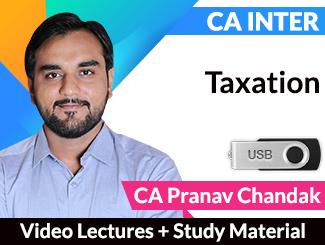 CA Pranav Chandak Lectures