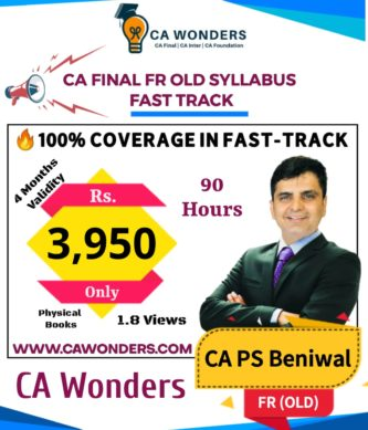 CA PS Beniwal Fast Track Lectures (FR Old Syllabus)