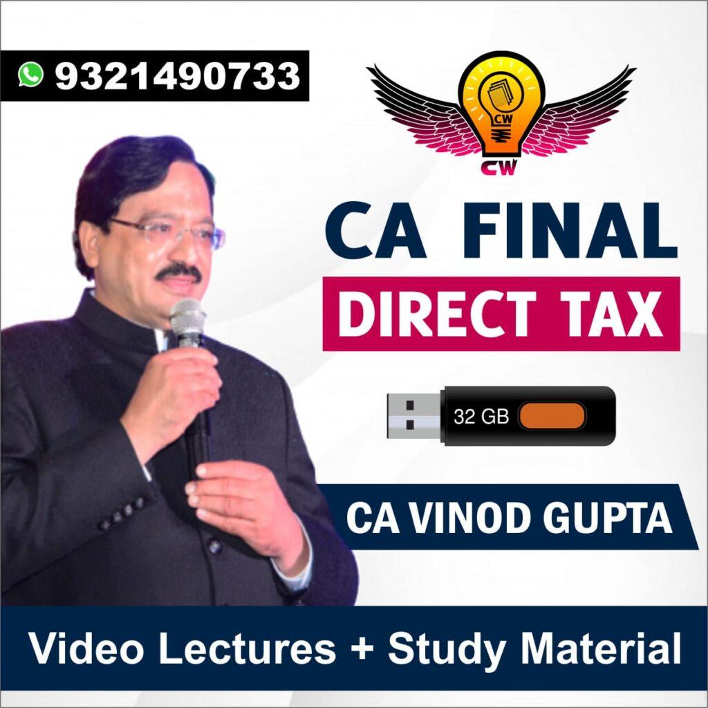 CA Vinod Gupta Pendrive | May & Nov 2021