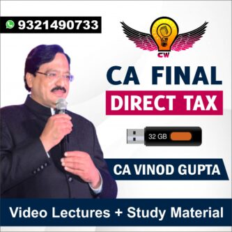 CA Vinod Gupta Pendrive | May & Nov 2021