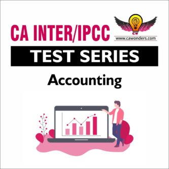 CA Inter / IPCC Test Series | Accounting Test Series