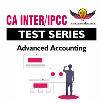 CA Inter / IPCC Test Series | Advanced Accounting Test Series