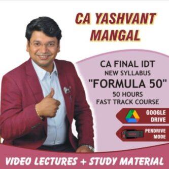 ca yashvant mangal formula 50 batach