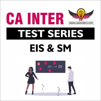 CA Inter / IPCC Test Series | Enterprise Information Systems & Strategic Management Test Series