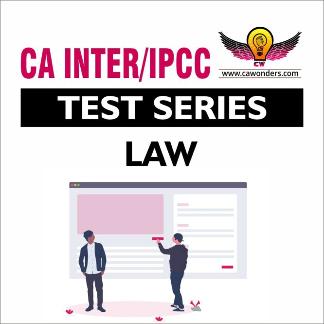 CA Inter / IPCC Test Series | Business Laws, Ethics and Communication Test Series