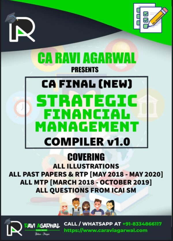 CA Final SFM COMPILER (PDF) For Nov. 2020 Exam By CA Ravi Agarwal
