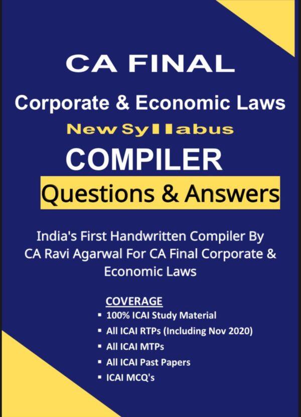 CA Final LAW COMPILER (PDF) For Nov. 2020 Exam By CA Ravi Agarwal