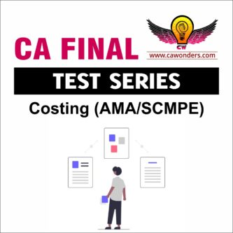 CA Final Test Series | Costing Test Series