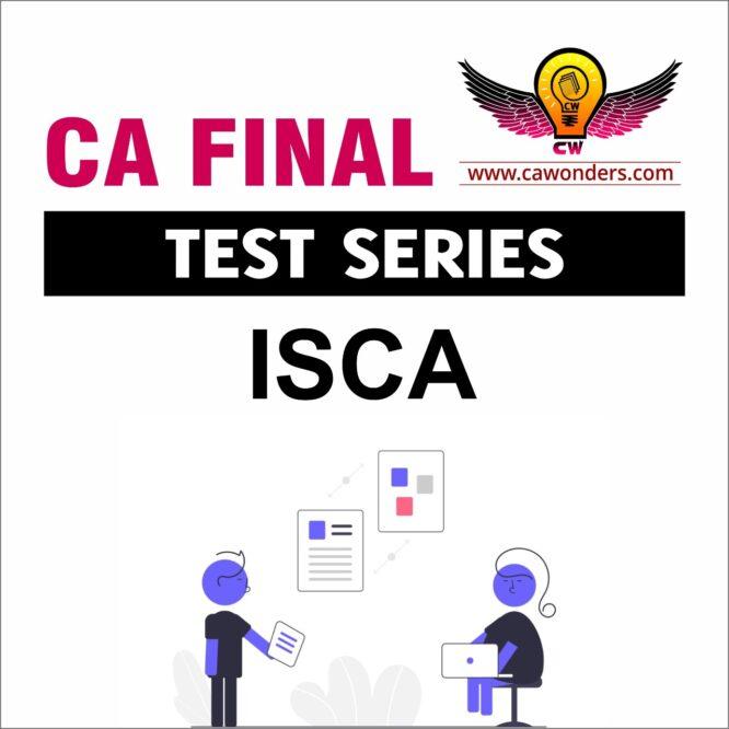 CA Final Test Series | ISCA Test Series