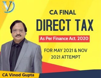 CA Vinod Gupta DT & International Taxation Pendrive | For May & Nov 2021