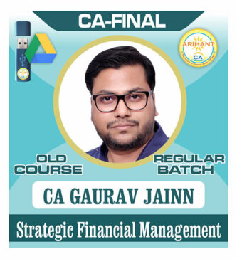 CA Final SFM Regular Old Course by CA Gaurav Jainn