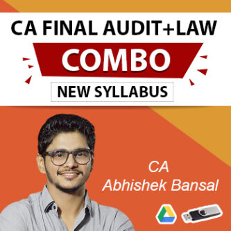 CA FINAL AUDIT AND LAW REGULAR BATCH COMBO NEW SYLLABUS BY CA ABHISHEK BANSAL