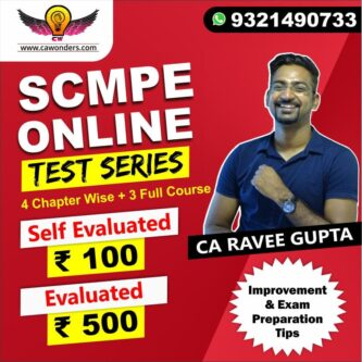CA Final Test Series | SCMPE