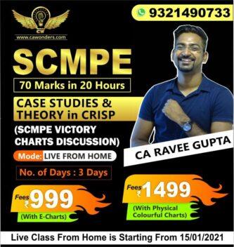 SCMPE Case Studies & Theory Classes By CA Ravee Gupta