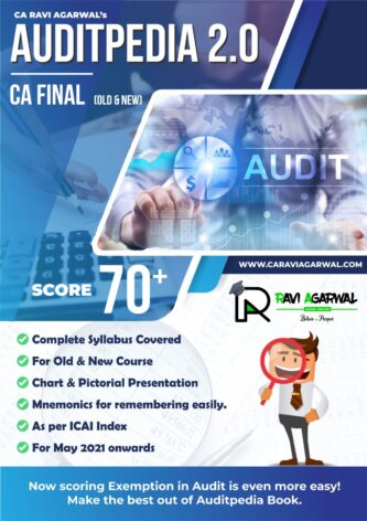 CA Ravi Agarwal's AUDITPEDIA 2.0 For CA Final (PDF) May 2021