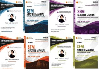 CA FINAL SFM MASTER MANUAL BOOK By CFA Archana Khetan For MAY 2021 & NOV 2021