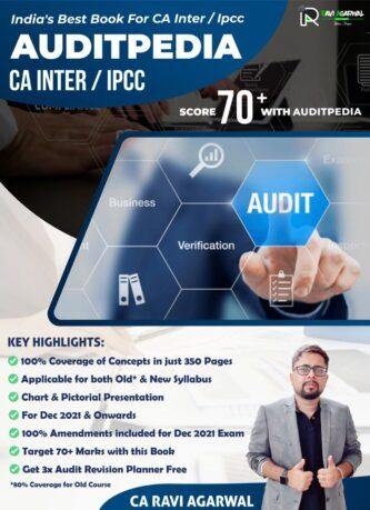 ca inter auditpedia audit book